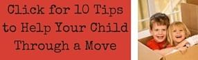 Ten Tips to Help Your Children with a Military Move
